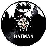 Best Knight Alarm Clocks - GLJF Wall Clock Gift Batman Dark Knight Vinyl Review