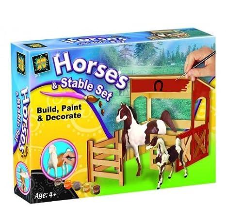 Diamant - Juego para colorear establo y caballos: Amazon.es ...