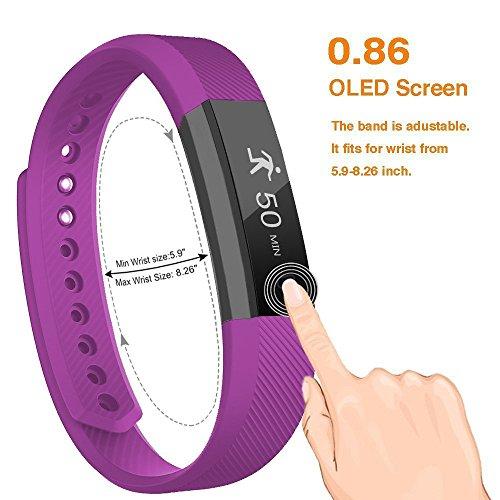 Smart Bracelet Fitness Activity Tracker - BIGFOX ID115 Smart