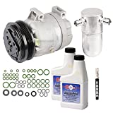 AC Compressor & Clutch With Complete A/C Repair Kit For P...