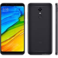 Smartphone Xiaomi Redmi 5 Plus dual Android 7.1 Tela 5.99 64GB Camera 12MP Rom Global - Preto