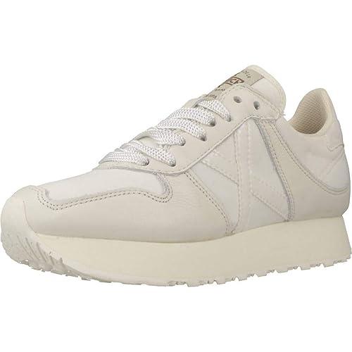 Calzado Deportivo para Mujer, Color Blanco, Marca MUNICH, Modelo Calzado Deportivo para Mujer MUNICH Massana Sky Blanco: Amazon.es: Zapatos y complementos