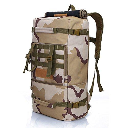 bolso del alpinismo/Hombres y mujeres mochila/Mochila de Viaje/bolsa de viaje al aire libre/Mochila grande capacidad-A D
