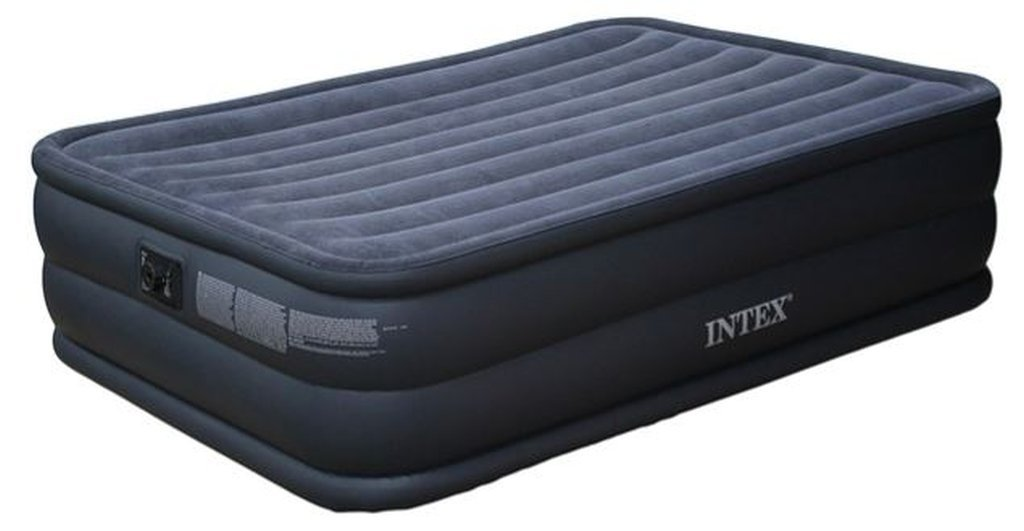 Letto Gonfiabile.Letto Gonfiabile Raised Downy Bed Intex Amazon Co Uk Kitchen