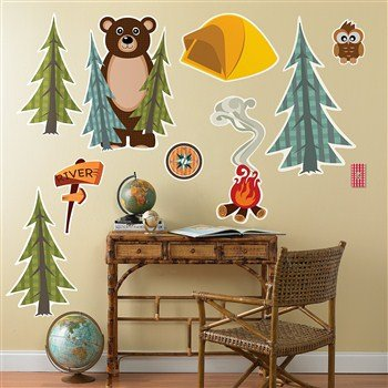 camping and adventure decorations