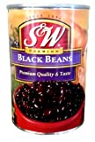 S&W Premium BLACK BEANS 15oz (6 Pack)