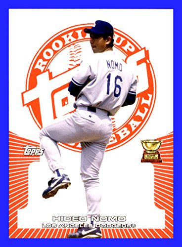 (2005 Topps Rookie Cup Red #96 Hideo Nomo LOS ANGELES DODGERS Serial #281/499)