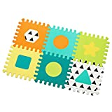 Infantino Topsy Turvy Soft Foam Puzzle Mat