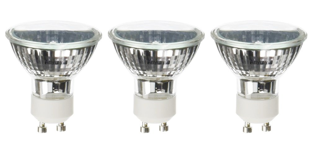 (3)-Pack for Range Hood Kitchen 50W Light Bulbs 50-Watts Anyray