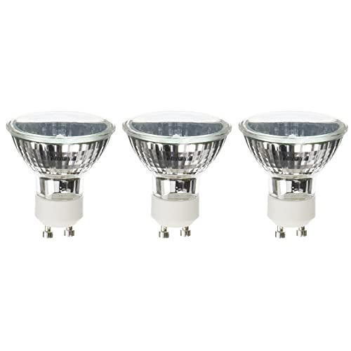 (3)-Bulbs Anyray Compatible Replacement Bulb for ESSENZA Wax Warmer 120V 25W GU10+C GZ10+C