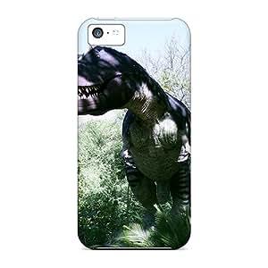 Kaw5132czgf Little NiZi Awesome Case Cover Compatible With Iphone 5c - San Antonio T Rex