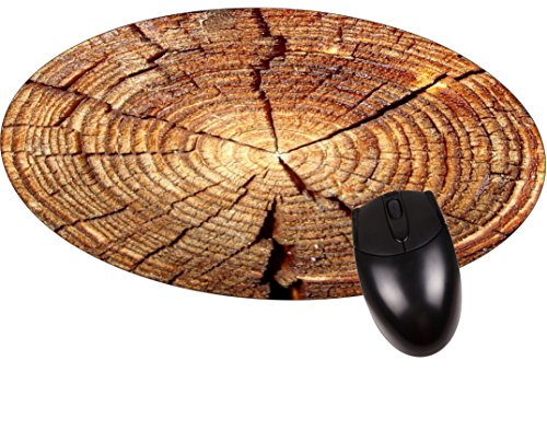 Tree Rings- Round Mouse pad - Stylish, Durable Office Accessory Made in the USA