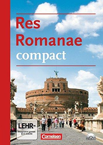 Res Romanae - compact: Schülerbuch mit CD-ROM