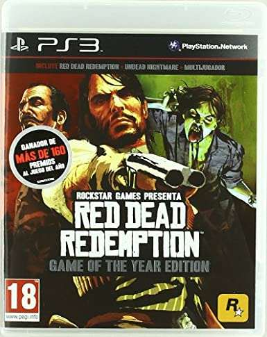 Red Dead Redemption - Game Of The Year Edition: Amazon.es: Videojuegos