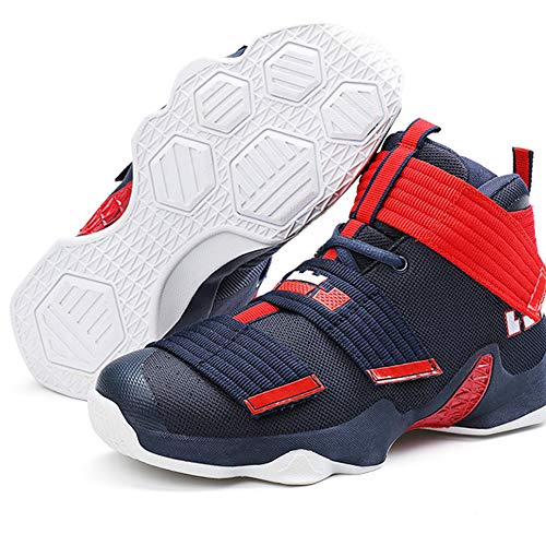 bd2f51b13d2 Respirant Adulte Haute Résistant Basketball À Xiguafr L usure Outdoor Chaussure  Sport De Léger Bleu Velcro Femme Avec Mixte Homme nqwnvXYg