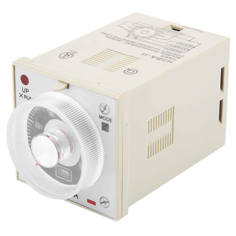10S Delay Timer Relay Knob Type Control Timing Relay H3BA-11 11-Pin 200//220//240V
