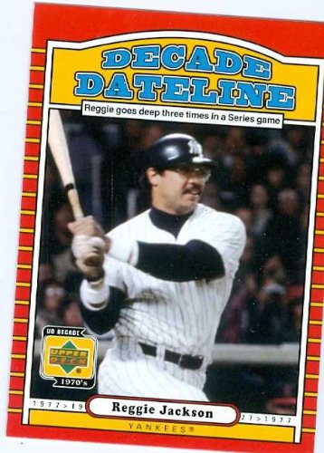 e3d403c93 Reggie Jackson baseball card 2001 Upper Deck Decade Legends  133 (New York  Yankees) 67 at Amazon s Sports Collectibles Store