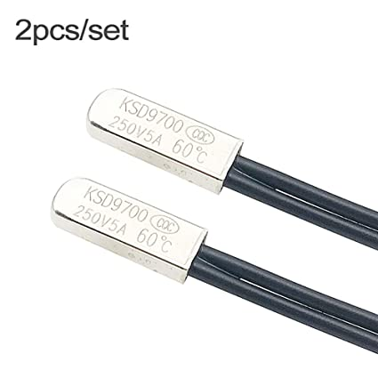 110°C KSD9700 Temperature Switch Normally Closed Thermostat Thermal Protector
