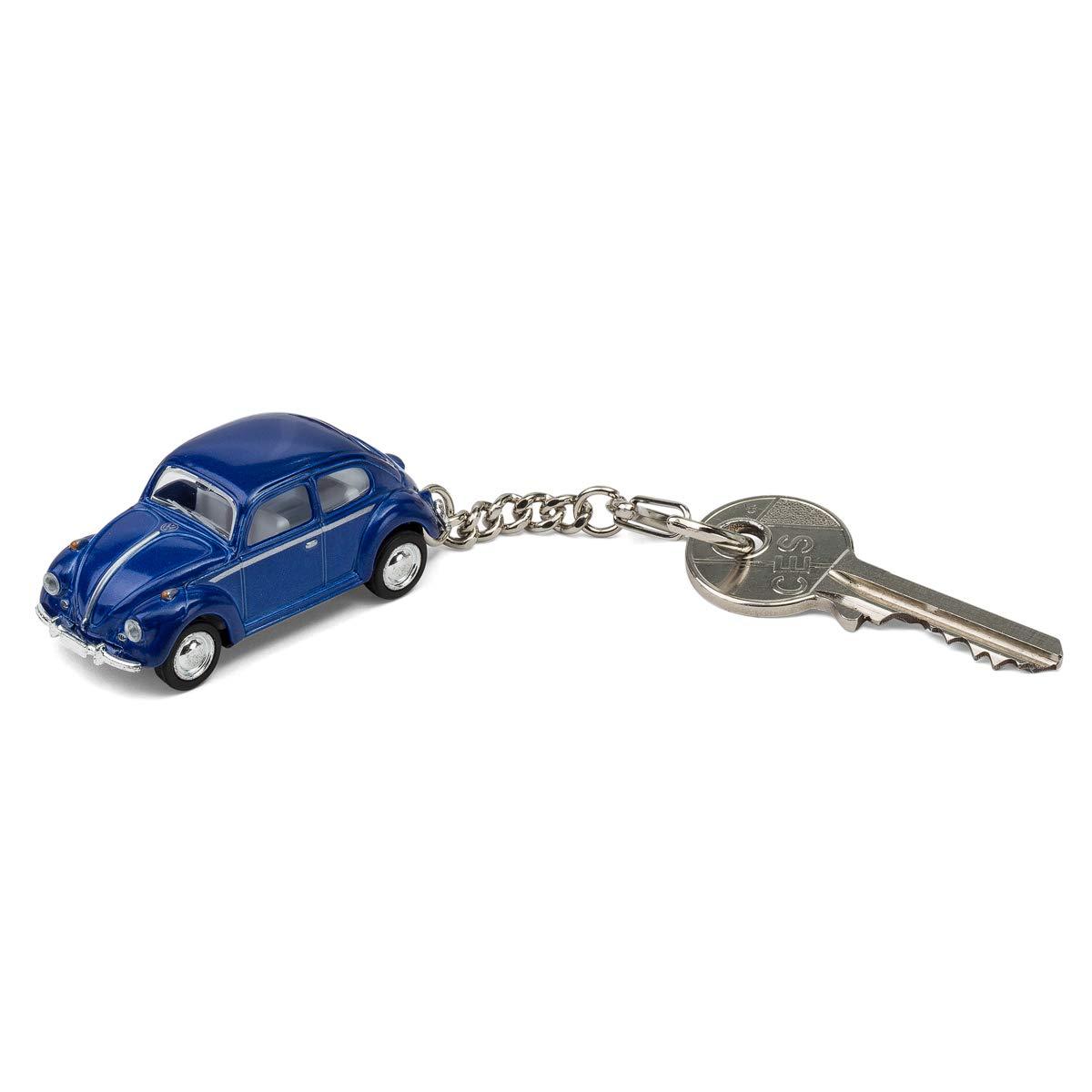 maggiolone blu VW Portachiavi motivo