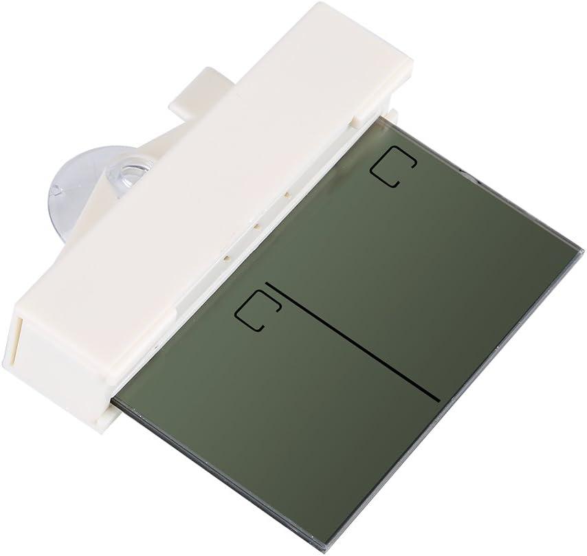 Estaci/ón meteorol/ógica inal/ámbrica Term/ómetro Higrometro LCD Pantalla Medidor TemperaturaHumedad Term/ómetro casero del higr/ómetro de la Temperatura del LCD del dise/ño de Sucker