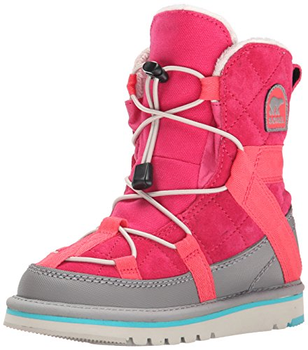 Sorel Youth Glacy Short BR RO Cold Weather Boot , Bright Ros
