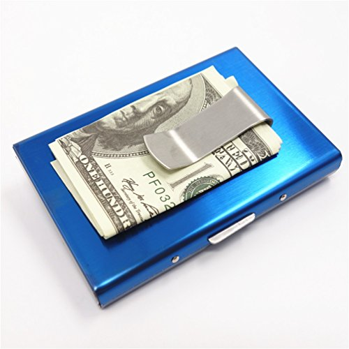 High-Grade stainless steel men credit card holder women meta