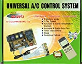 universal ac control system - UNIVERSAL DUCTLESS MINI-SPLIT AC CONTROL SYSTEM W/REMOTE & SENSORS