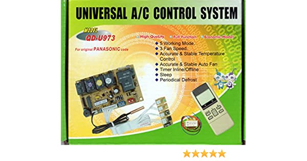 Amazon com: UNIVERSAL DUCTLESS MINI-SPLIT AC CONTROL SYSTEM