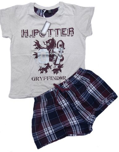 Harry Potter by PRIMARK - Pijama - para Mujer Cream/Burgandy Medium