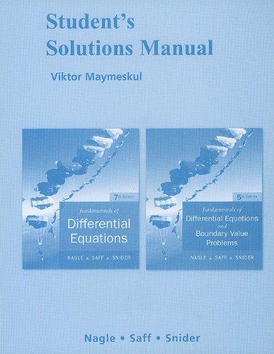 Fundamentals of Differential Equations and Fundamentals...