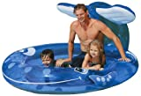 """Intex Inflatable Whale Spray Kiddie Pool - Holds up to 71 Gallons (82""""x62""""x39"""")"""