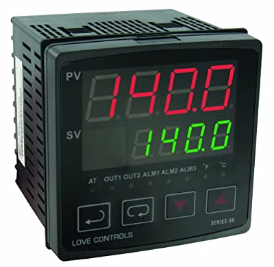 Dwyer Love Series 4B 1/4 DIN Temperature and Process Controller