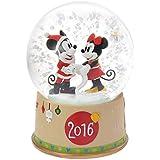 【 ディズニー 公式 】 2016 クリスマス 限定 スノードーム  ミッキー & ミニー ( Disney プレゼント ギフト グッズ )正規品