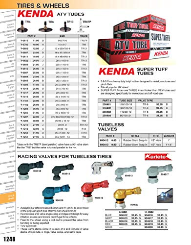 Kenda 05210310ST Super Tuff Tubes - 80/100-21 - TR-6 Valve Stem
