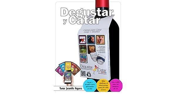 Amazon.com: Degustar y Catar: JUEGO para aficionados al vino ...