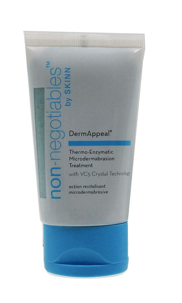 Non-Negotiables by Skinn Dermappeal Microdermabrasion Treatment With VC5 Crystal Technology 2 oz.