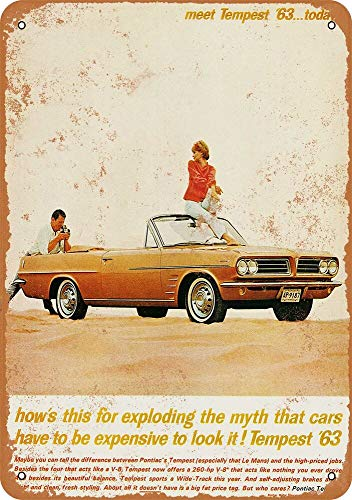 1963 Pontiac Tempest Convertible - Rusty Look 8