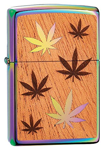 (Zippo Woodchuck USA Leaves Pocket Lighter)