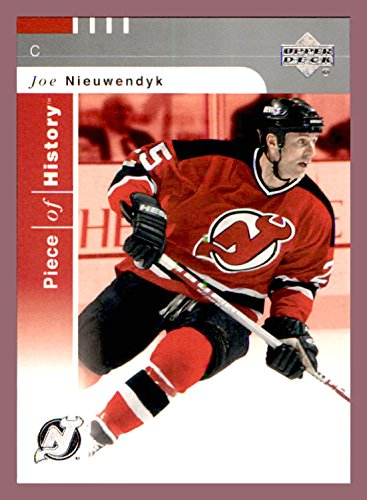 - 2002-03 UD Piece of History #52 Joe Nieuwendyk NEW JERSEY DEVILS