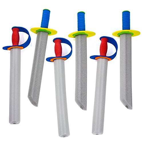 Tigerdoe Foam Swords - Toy Swords - Warrior Sword Toy - Ninja Swords - Christmas Stocking Stuffers