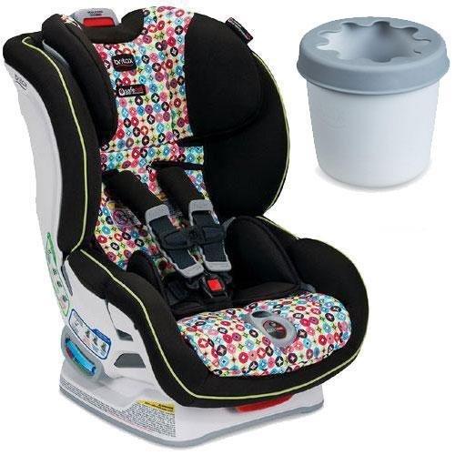 Britax - Boulevard ClickTight Convertible Car Seat with Cup Holder - Kaleidoscope
