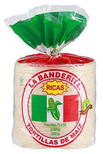 6 corn tortillas - 9