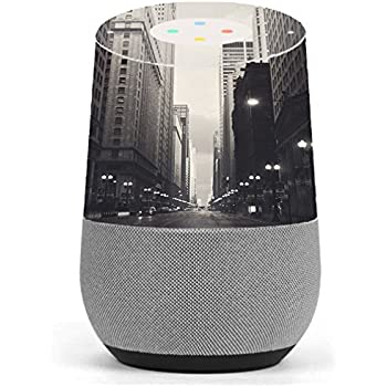 skin decal vinyl wrap for google home stickers skins cover city street office products. Black Bedroom Furniture Sets. Home Design Ideas