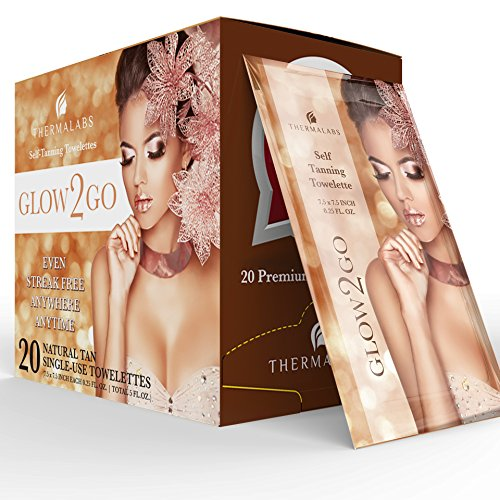 #1 Bestseller 50% Sale! 20 Self Tan Towelettes | Self Tanner Sunless Tanning