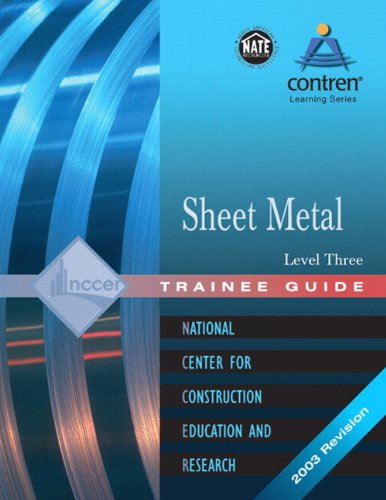Sheet Metal Level 3 Trainee Guide [With Blueprints] pdf