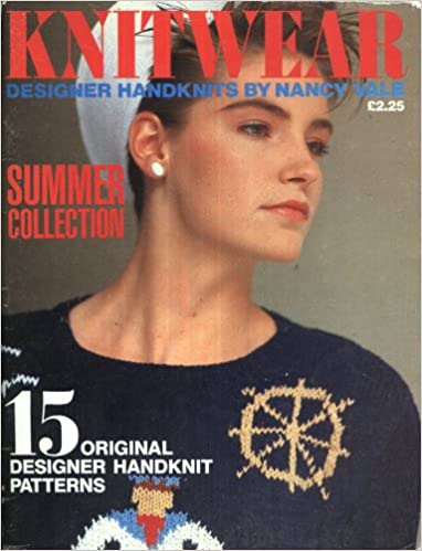 Nancy Vale - Knitwear Summer Collection Knitting Pattern Book : 15