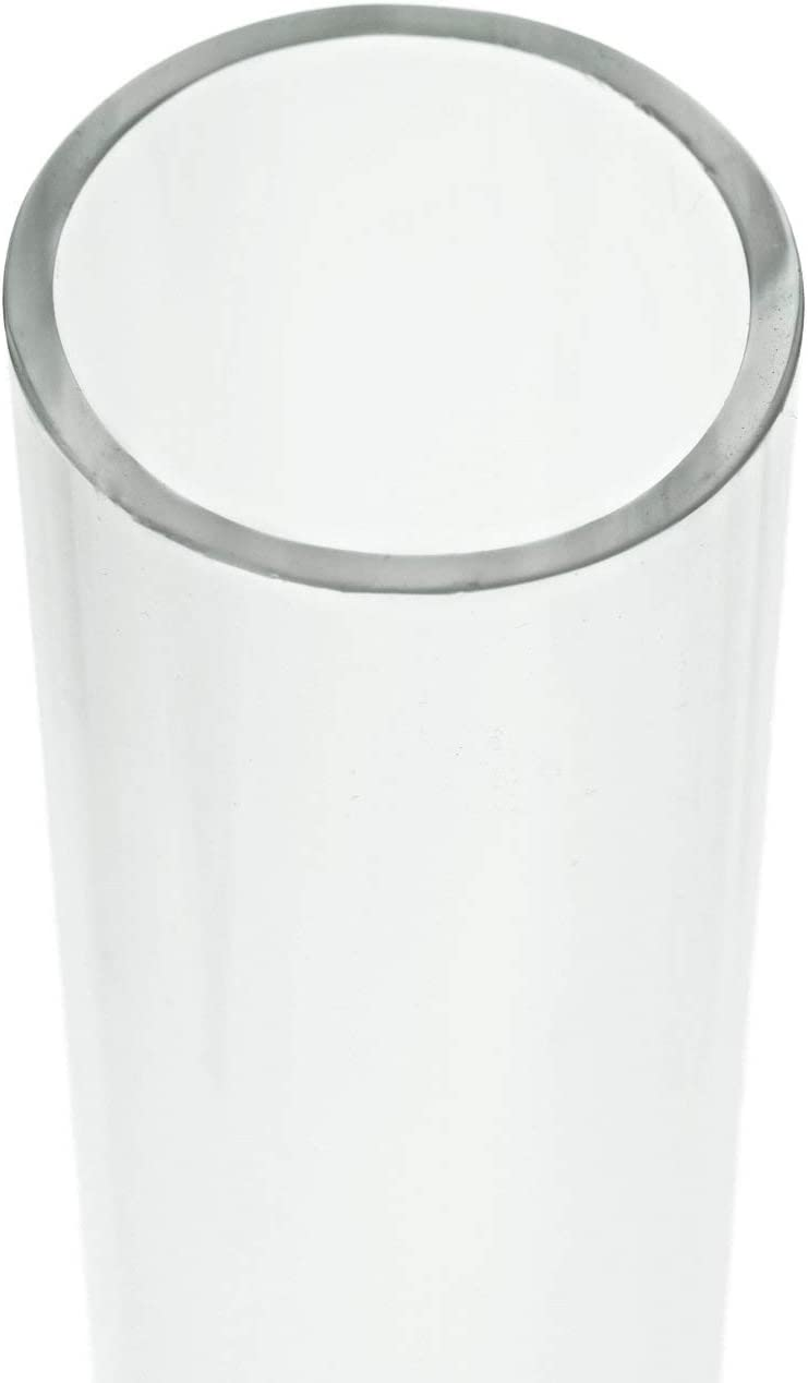 Source One Polycarbonate Unbreakable Round Clear Tube 1/2, 1, 1 1/2 Inch Diameter (1 1/2 Inch Diameter, 48 Inch Long)