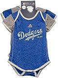 Los Angeles Dodgers Vintage Baby / Infant Go Team 2 Piece Creeper Set