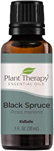 Plant Therapy Black Spruce Essential Oil 30 mL (1 oz) 100% Pure, Undiluted, Therapeutic Grade