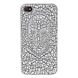 conseguir Diseño Cráneo Caso duro especial Cool 3D patrón con mate de la contraportada para el iPhone 4/4S